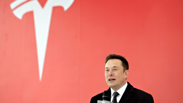 Elon Musk in Shanghai January 2019