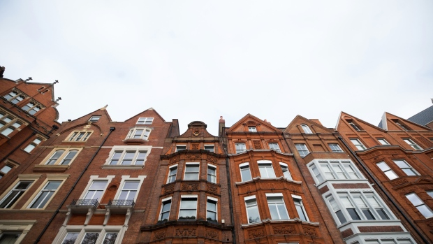 7926c3402dfd59 Red brick residential properties stand in the Kensington and Chelsea  borough of London