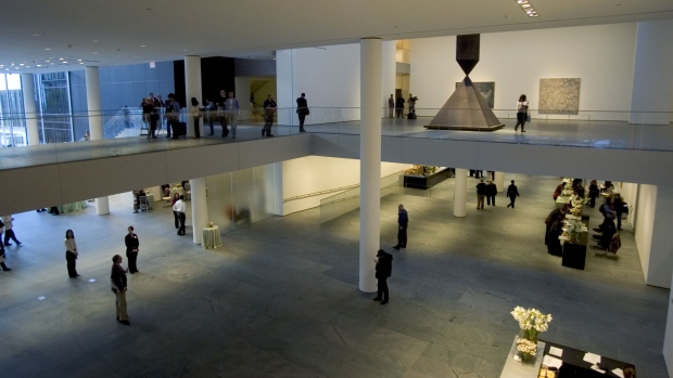 Museum of Modern Art in New York Photographer: Daniel Acker/Bloomberg