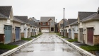 Homes stand in East Gwillimbury, Ontario, Nov. 2, 2018