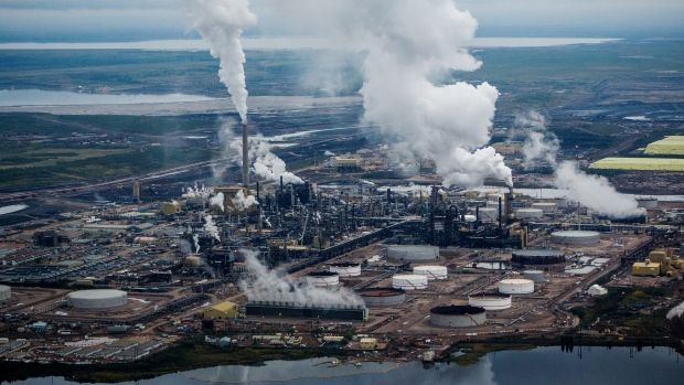 Syncrude canada ltd upgrader plant near fort mcmurray