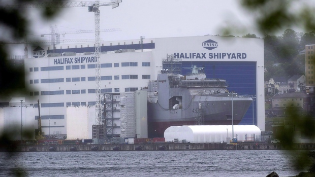 The Irving Shipbuilding facility