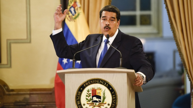 Nicolas Maduro on Feb. 8.