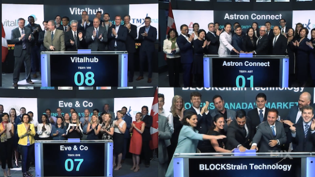 Market One - TSX opening bells