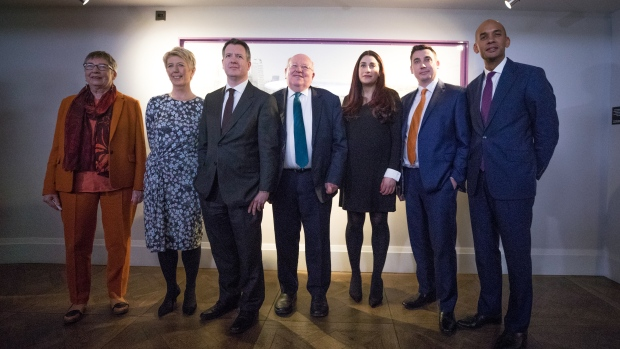 Labour MPs announce their resignations from the party