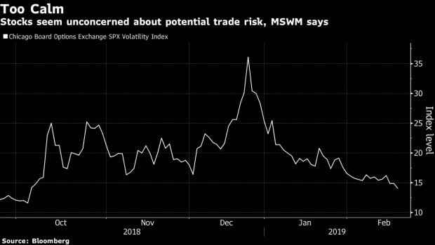 Markets Are Too Complacent About Trade War, Morgan Stanley Wealth