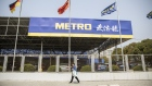 A Metro AG store stands in Shanghai, China, on Wednesday, March 20, 2019. German food wholesaler Metro's Chinese business has attracted potential bidders including internet giant Tencent Holdings Ltd. and domestic buyout firm Citic Private Equity, people with knowledge of the matter said.