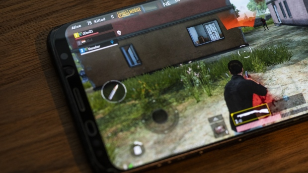 The PlayerUnknown's Battlegrounds (PUBG) game Photographer: Justin Chin/Bloomberg