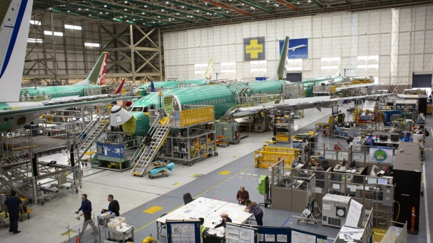 Wall Street falters on Boeing 737 MAX production cuts