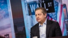Steve Eisman, managing director of Neuberger Berman Group LLC, listens during a Bloomberg Television interview in New York, U.S., on Friday, March 31, 2017. Photographer: Christopher Goodney/Bloomberg