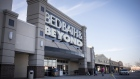 Shoppers arrive at a Bed Bath & Beyond Inc. store in Norridge, Illinois, U.S., on Saturday, Dec. 16, 2017.
