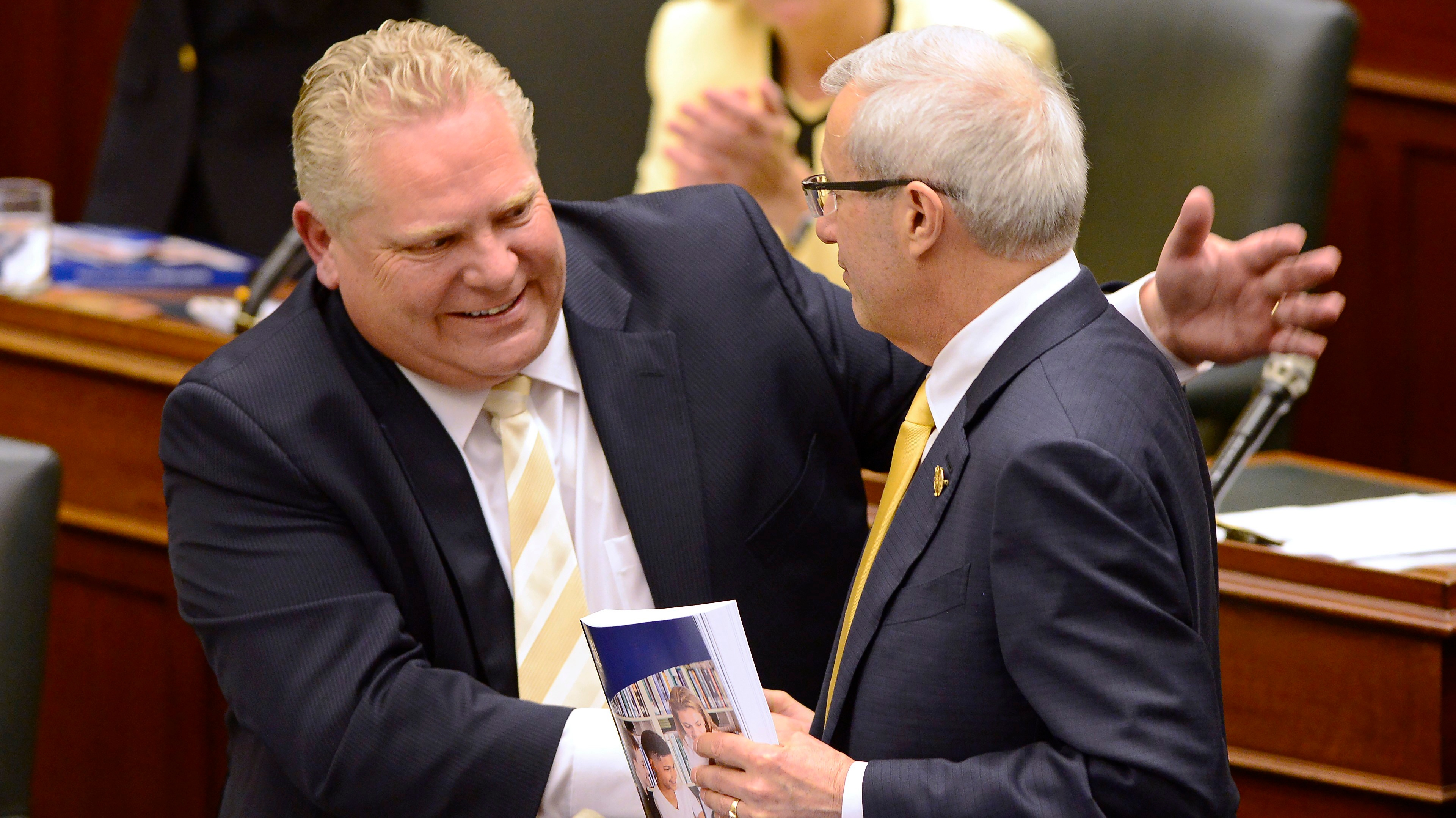 Ford turns Ontario license plates Tory blue