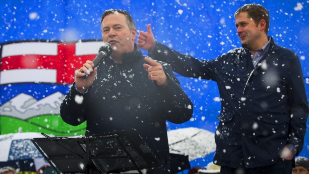 Jason Kenney's UCP projected to win majority government in Alberta