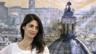 Virginia Raggi, Rome's mayor-elect, smiles during a news conference in Rome, Italy, on Monday, June 20, 2016. Italy's anti-establishment Five Star Movement is poised to win elections in Rome and Turin in a populist surge that would give the Italian capital its first female mayor and threaten to derail Prime Minister Matteo Renzi's reform agenda. Photographer: Alessia Pierdomenico/Bloomberg