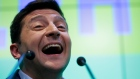 Ukrainian comedian and presidential candidate Volodymyr Zelenskiy