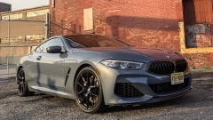 Some might compare the new 8-Series to a Ford Mustang fastback, but the distinguished viewer will know the difference immediately.