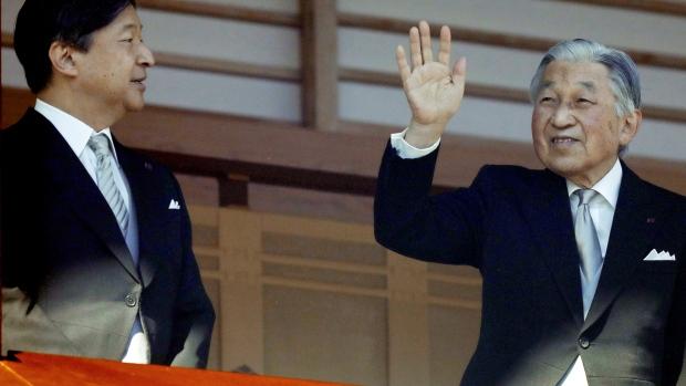 Image result for japanese king steps down