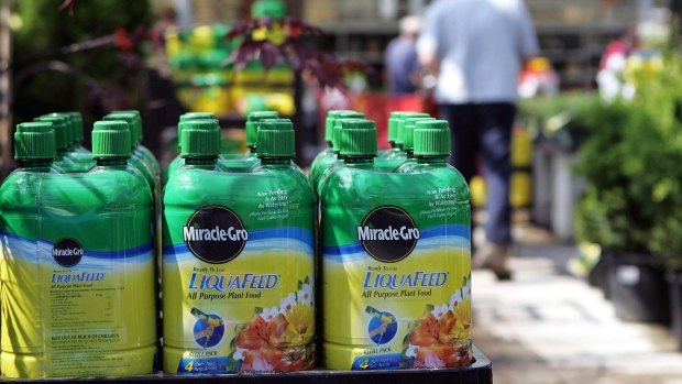 Scotts Miracle-Gro jumps most in decade on pot-supplies