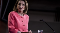 Nancy Pelosi speaks during a press conference on May 2.