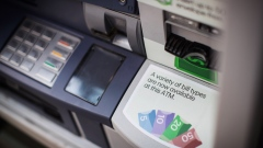 A Toronto-Dominion (TD) Canada Trust bank automated teller machine (ATM) is seen in Vancouver, British Columbia, Canada, on Thursday, Aug. 30, 2018.