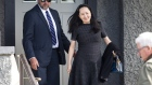 Meng Wanzhou leaves her house for a hearing at the Supreme Court on May 8.