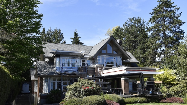 A home belonging to Huawei Technologies Co. Chief Financial Officer Meng Wanzhou in Vancouver