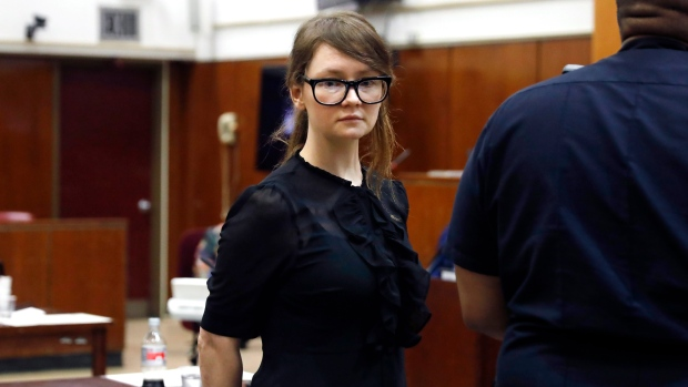 'Fake heiress' Anna Sorokin sentenced to 4-12 years in prison