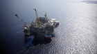 The Chevron Corp. Jack/St. Malo deepwater oil platform stands in the Gulf of Mexico