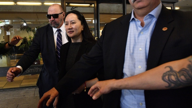 Meng Wanzhou in Vancouver on May 8.