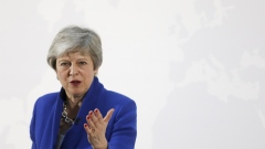 May laid out a new offer on her deal, but it only raised doubts about her political longevity. Click here to hear what former Tory leader Chris Patten had to say about likely leadership contender Boris Johnson (hint, it was not flattering). Photographer: Chris Ratcliffe/Bloomberg