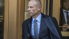 Michael Avenatti, attorney to Stormy Daniels, arrives at federal court for the sentencing of Michael Cohen, former personal lawyer to U.S. President Donald Trump, not pictured, in New York, U.S., on Wednesday, Dec. 12, 2018. Cohen confessed nine crimes this year after federal prosecutors said that he had concealed income and evaded taxes, orchestrated a scheme to violate campaign finance laws at the height of the 2016 U.S. presidential election, and lied to banks and Congress. Photographer: Victor J. Blue/Bloomberg