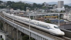 TOKYO, JAPAN - JUNE 28: A N700S Shinkansen bullet train test runs between Shinagawa and Shin-Yokohama stations on June 28, 2018 in Odawara, Kanagawa, Japan. (Photo by Manabu Takahashi/Getty Images)