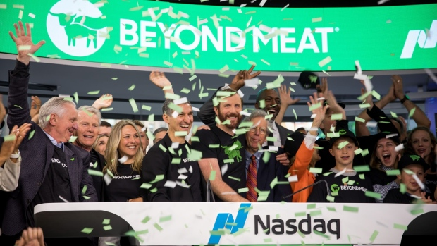 Plant-based burger maker Beyond Meat smashes growth forecasts
