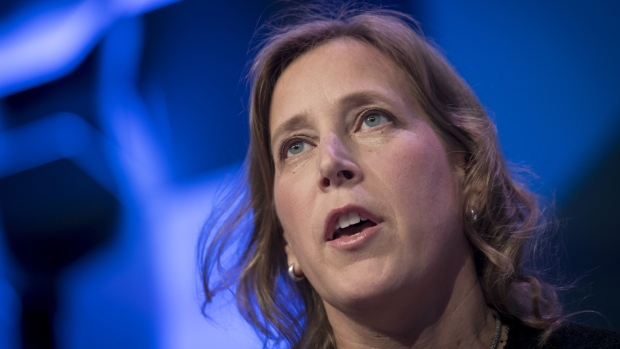 Susan Wojcicki. Bloomberg/David Paul Morris