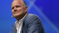 Mike Novogratz, founder and chief executive officer of Galaxy Investment Partners LLC, smiles during the Skybridge Alternatives (SALT) conference in Las Vegas, Nevada, U.S., on Wednesday, May 8, 2019. SALT brings together investors, policy experts, politicians and business leaders to network and share ideas to unlock growth opportunities in finance, economics, entrepreneurship, public policy, technology and philanthropy.