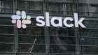 A view of Slack headquarters on April 02, 2019 in San Francisco, California. Workplace messaging company Slack Technologies Inc. announced plans to list its shares on the New York Stock Exchange.
