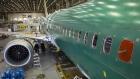 A Boeing Co. 737 MAX 9 jetliner sits on the production floor at the company's manufacturing facility in Renton, Washington, U.S.