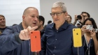 Jony Ive and Tim Cook Apple September 2018