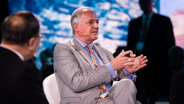 Paul Polman at the One Planet Summit in New York on Sept. 26.