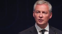 Bruno Le Maire, France's finance minister, speaks at the Federation of German Industries (BDI) conference in Berlin, Germany, on Tuesday, June 4, 2019.