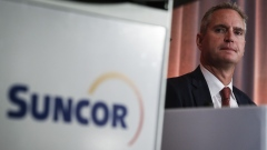 Suncor president and CEO Mark Little