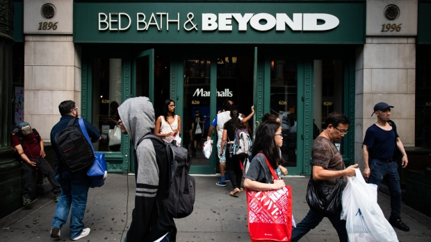 Bed, Bath & Beyond maps comeback as sales fall, activists