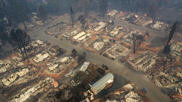 Nearly 500,000 California Homes at High or Very High Fire Risk - BNN Bloomberg