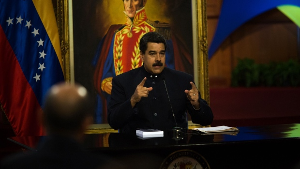 Maduro says he `repudiates` Trump statement on possible Venezuela blockade