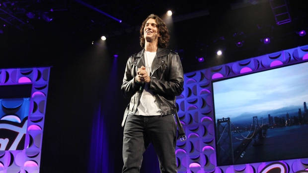 WeWork Gave Founder Loans as It Paid Him Rent, IPO Filing