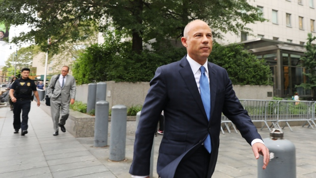 Michael Avenatti Photographer: Spencer Platt/Getty Images