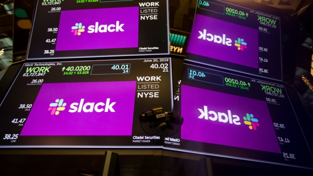 Slack projects slowing pace for revenue over second half