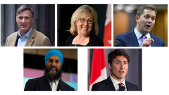 Canada's party leaders, version 2