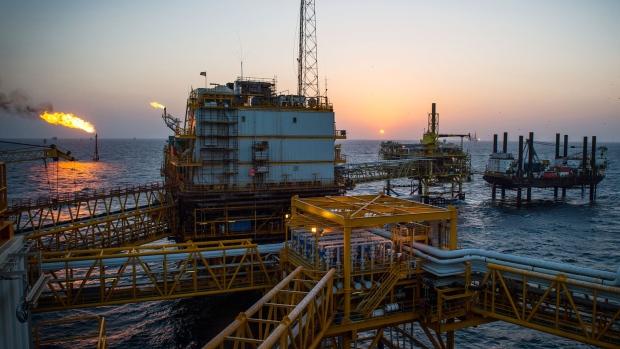 Persian gulf s salman oil field