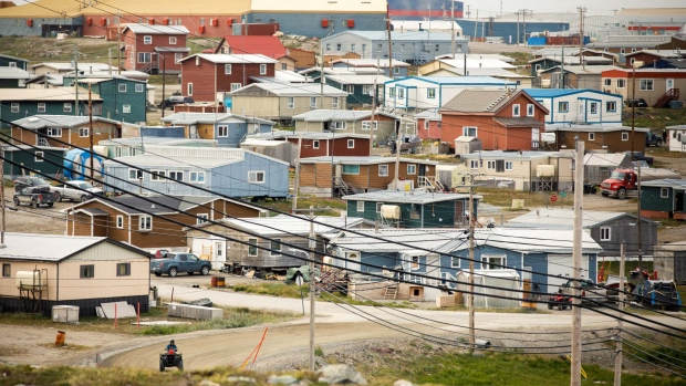 The town of Rankin Inlet is close to the Meliadine gmine opened this year by Agnico.